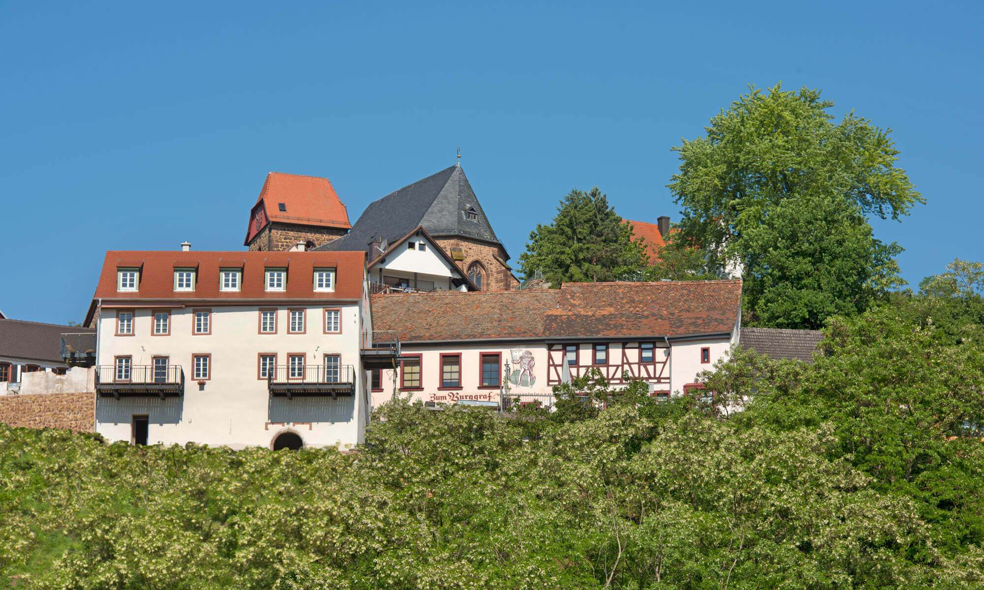 Burggarten Apartments in Neuleiningen